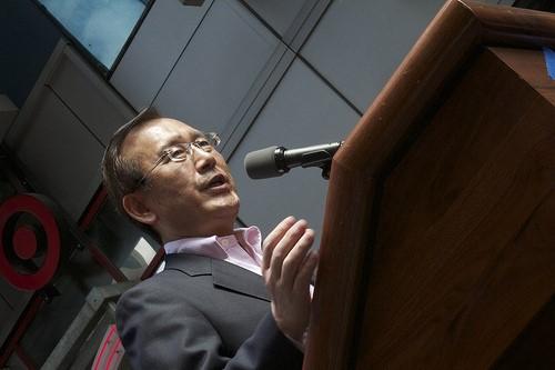 Prof. Tadatoshi Akiba, the former mayor of Hiroshima (Photo: Al Ittihad)