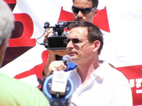 MK Dov Khenin (Photo: Al Ittihad)