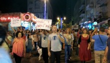 Demonstration in Jerusalem against occupation, war and racism, on last week (Photo: Combatants for Peace)