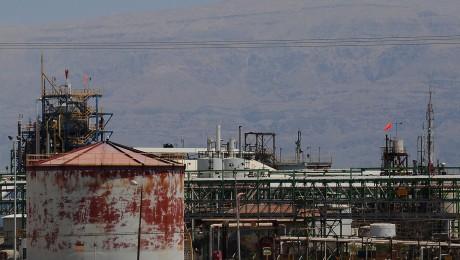 Factories At the Dead Sea (Photo: Al Ittihad)