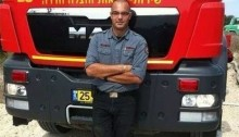 Firefighter Samer Asil, 34, killed in the rescue effort that followed last week's tragic ammonia leak (Photo: Firefighter's Union)
