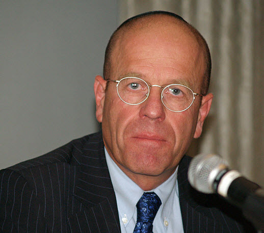 Former Knesset Speaker Avraham Burg, in the past a member of Knesset from the Labor Party.