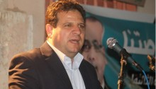 MK Ayman Odeh (Hadash), head of the Joint List