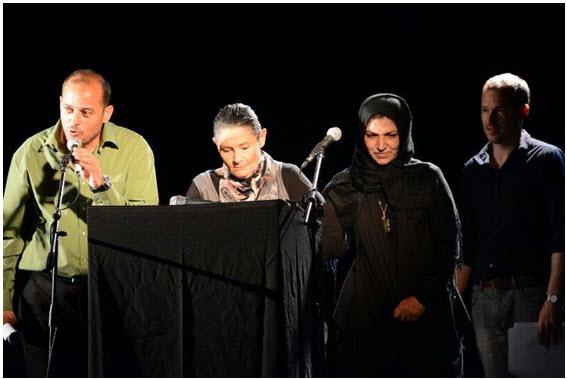 The Israeli-Palestinian Memorial Day ceremony held in Tel Aviv.