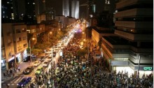 Thousands of Israelis flooded the streets on Saturday night, June 27, to oppose the gas deal approved by the cabinet