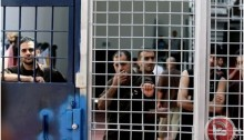Palestinians incarcerated in an Israeli prison