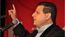 Hadash MK Ayman Odeh, Chairman of the Joint List
