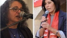 MK Aida Touma-Sliman and MP Khalida Jarrar