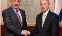 PM Netanyahu and American Nobel Energy CEO Charles Davidson