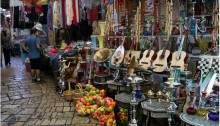 The Arab market in the old city of Acre