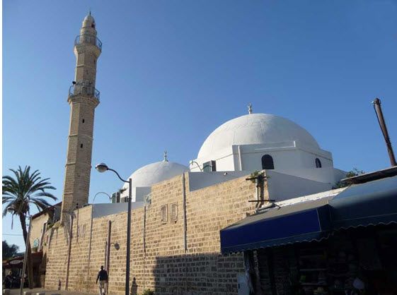 The Mahmoudiya Mosque in Jaffa