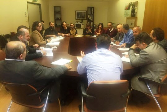 """""""Joint Mizrahi"""" activists meet with MKs from the Joint List."""