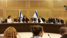 Knesset Committee for the Advancement of the Status of Women meeting about segregated maternity wards in hospitals