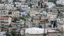 Jewish settlement in Palestinian neighborhood of Silwan in occupied East Jerusalem