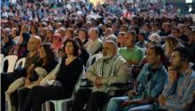 Israeli-Palestinian Memorial Day ceremony, Tuesday evening, May 10, in Tel-Aviv