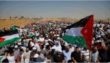 "Thousands of Arab-Palestinians from across Israel participated in the 19th annual ""March of Return"" held in the Negev on Thursday, May 12, 2016"
