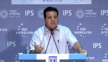 Hadash MK Ayman Odeh, head of the Joint List, at the 16th annual Herzliya Conference