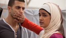 A scene from the award-winning Israeli film Sand Storm
