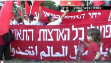 Social TV's reportage of the 2014 May Day parade in Tel-Aviv