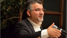 "MK Yousef Jabareen as he presents his ""Vision for Hope"" in the Israeli-Palestinian conflict"" in a public event held in Ottawa, Canada, on Tuesday, October 18"