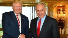 Donald Trump and Benjamin Netanyahu at Trump Tower, September 25, 2016