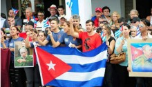 Cubans mourn Fidel Castro in Sancti Spíritus