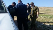 On Friday, January 6, one Ta'ayush activist from Jerusalem was arrested by Israeli police and occupation army forces near an illegal outpost in the Jordan Valley.