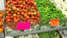 The price of one kilogram of tomatoes, last week in Tel-Aviv: more than 12 shekels