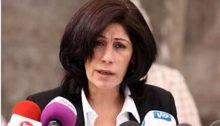 Palestinian Legislative Council member Khalida Jarrar