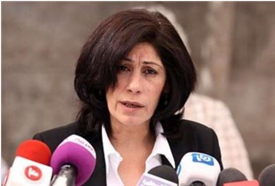 Palestinian Legislative Council member Khalida Jarrar