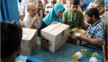 UNRWA continues to distribute food to 830,000 refugees in the Gaza Strip.
