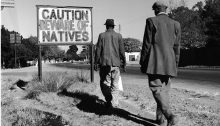 South Africa in the 1960s; Israel in 2017?
