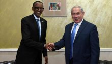 PM Netanyahu Meets Rwandan President Kagame