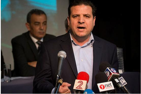 MK Ayman Odeh, chairman of the Joint List