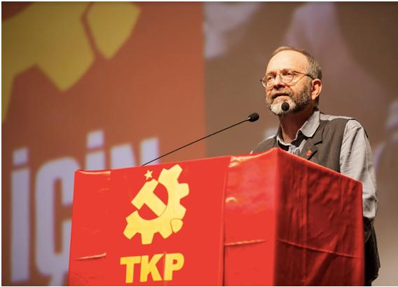The General Secretary of the Communist Party of Turkey (TKP), Kemal Okuyan