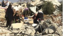House demolition at Umm al-Hiran, January 2017