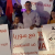 """Demonstration by Hadash and Communist Party of Israel (CPI) activists in Haifa Saturday evening, April 14, against the Washington-led missile strikes on Syria targets that were waged before dawn. The sign in Arabic in the center, held by CPI Secretary General Adel Amer, reads: """"With Syria against Imperialism, Zionism, and [Arab] Reactionism"""""""