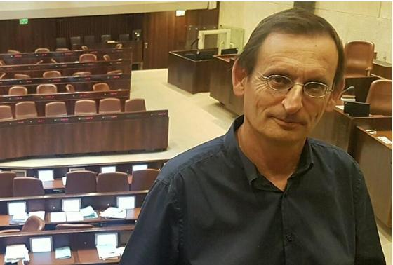 MK Khenin, in the Knesset Plenum, opposes the bill which transfers authority over Occupied Palestinian Territories from the High Court of Justice to the Administrative Affairs District Court, calling it part of the government's annexation legislation.