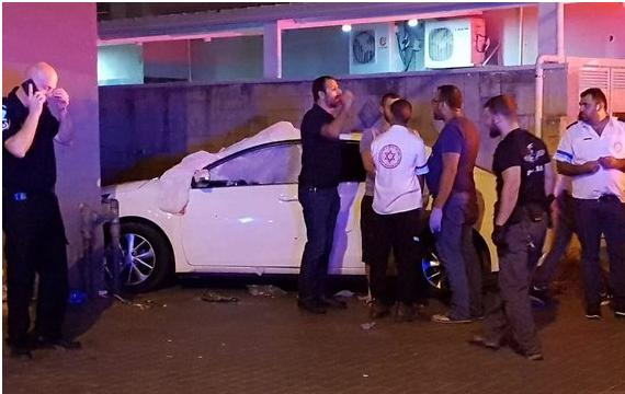The scene of the Thursday night double-murder in Tira