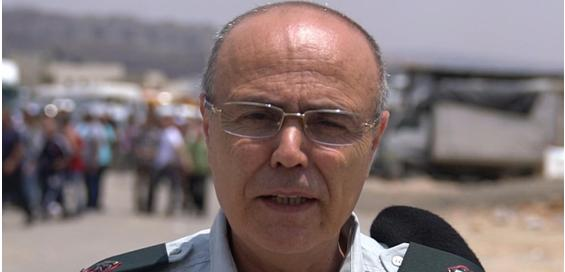 Major General Kamil Abu Rokon, Coordinator of Government Activities in the Palestinian occupied territories