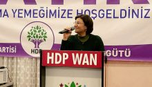 Leyla Güven, Democratic Society Congress (DTK) Co-chair and Peoples' Democratic Party Hakkari (HDP) MP