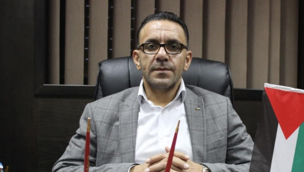 Adnan Ghaith, the Palestinian Authority's governor of occupied East Jerusalem