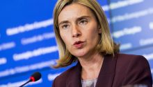 European Union foreign policy Chief Federica Mogherin