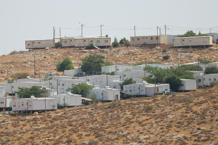 "An ""unauthorized"" settlement in the occupied West Bank"