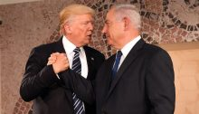 US President Donald Trump and Israeli Prime Minister Benjamin Netanyahu at the Israel Museum in Jerusalem on May 23, 2017 (Photo: US Embassy in Israel)