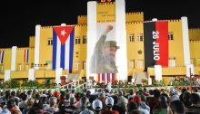 The Moncada Barracks in Santiago de Cuba where a small group of revolutionaries led by Fidel Castro staged an armed attack on July 26, 1953, marking the beginning of the Cuban Revolution