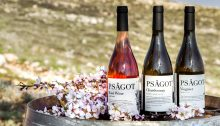 PSÂGOT wines produced in the settlement of that name north of Jerusalem, in the occupied Palestinian West Bank