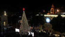 Christmas Eve in Bethlehem, last year