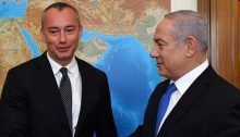 UN Special Coordinator for the Middle East Peace Process Nickolay Mladenov meets with Israel PM Benjamin Netanyahu. June 2018