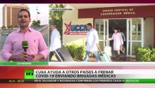"""Cuba is assisting other countries in fighting COVID-19 by sending them medical teams."""